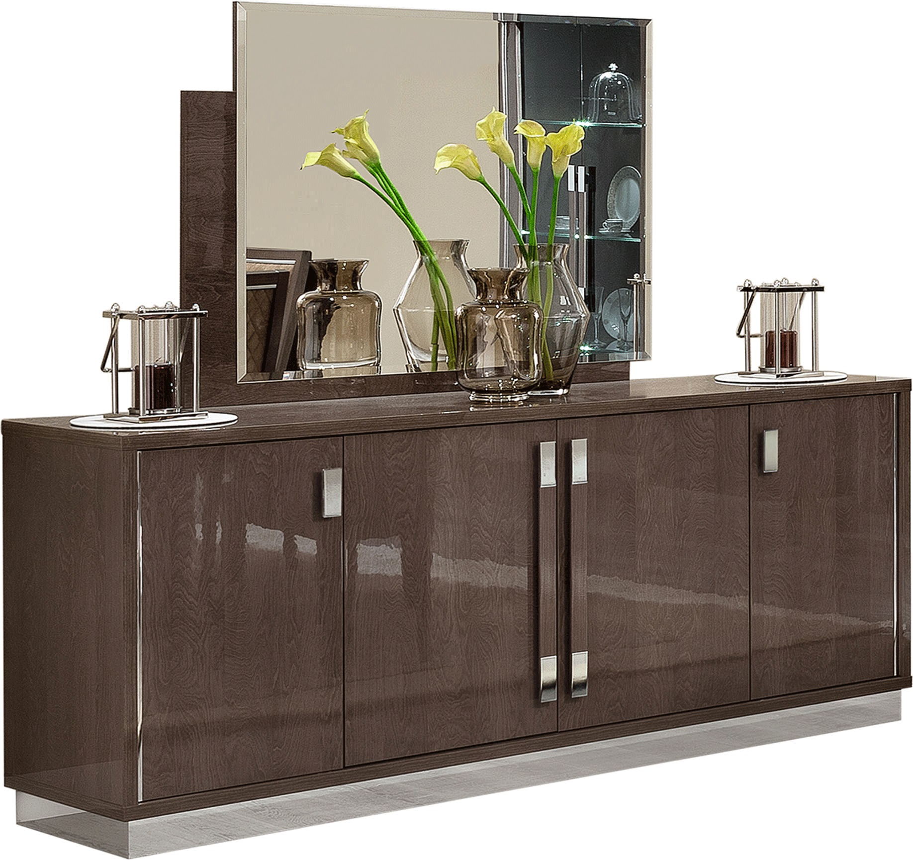Platinum 4 Doors Buffet Made In Italy By Esf Furniture Usa
