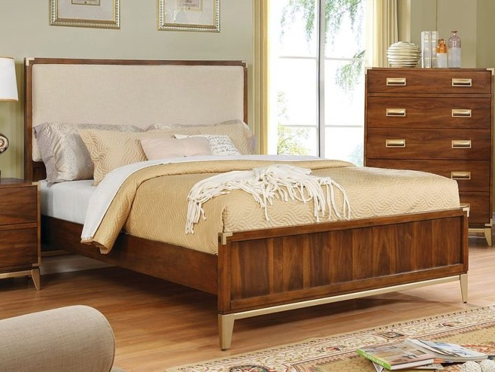 Tychus Upholstered Panel Bed