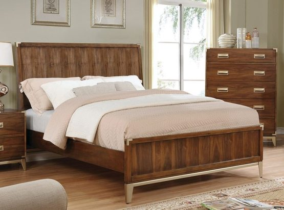 Tychus Wood Panel Bed