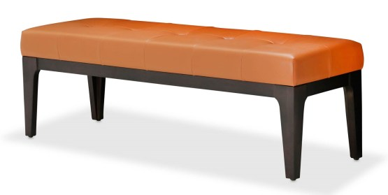21 Cosmopolitan Orange Bed Bench