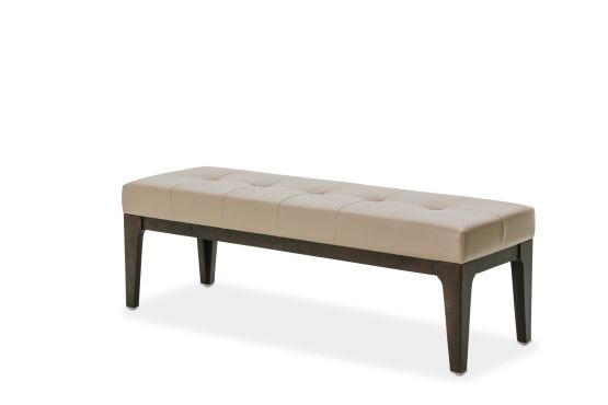 21 Cosmopolitan Taupe Bed Bench