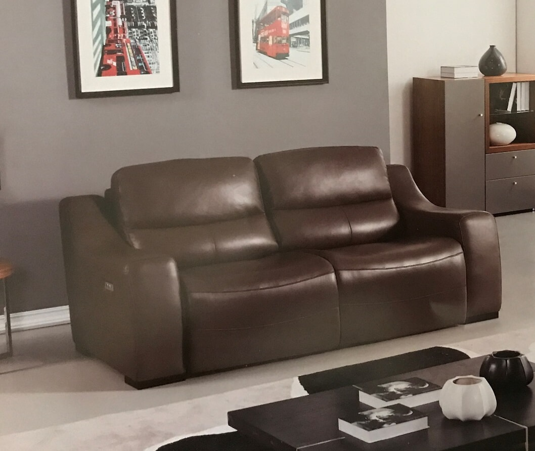 Wondrous Avana Taupe Full Italian Leather Power Reclining Sofa Creativecarmelina Interior Chair Design Creativecarmelinacom