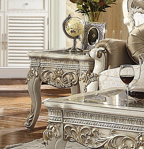 Homey Design HD-2652 Catalina End Table • USA Furniture Online
