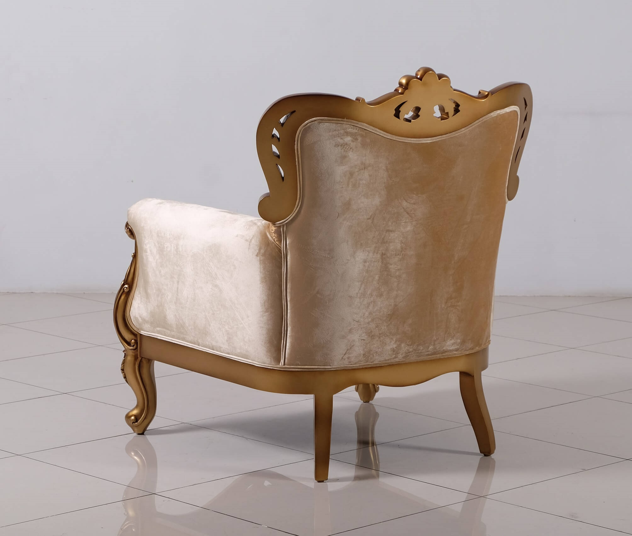Superieur Cleopatra Wood Trim Chair. Zoom Images
