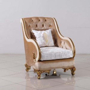Rosabella Wood Trim Chair