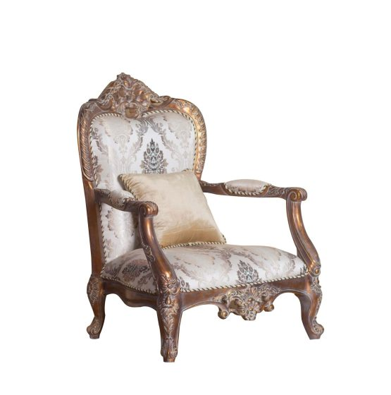 Victorian Wood Trim Chair