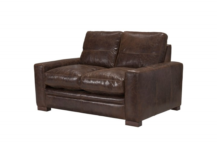 Outstanding Modena Vintage Espresso Italian Leather Loveseat Made In Italy Caraccident5 Cool Chair Designs And Ideas Caraccident5Info
