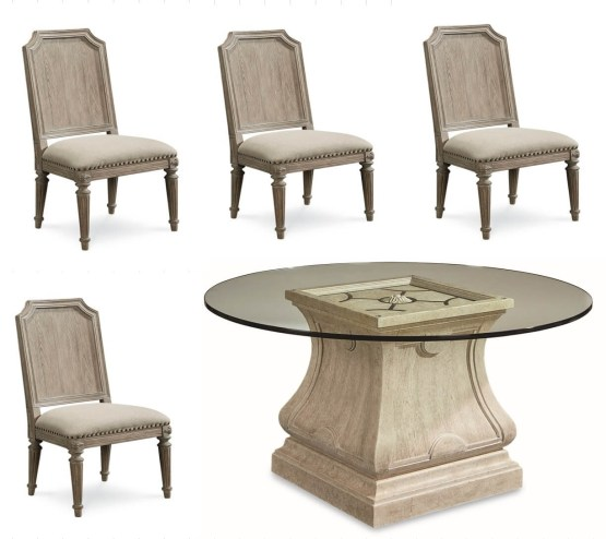 5 Piece Arch Salvage Dining Set