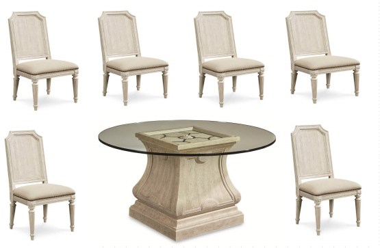 7 Piece Arch Salvage Dining Set