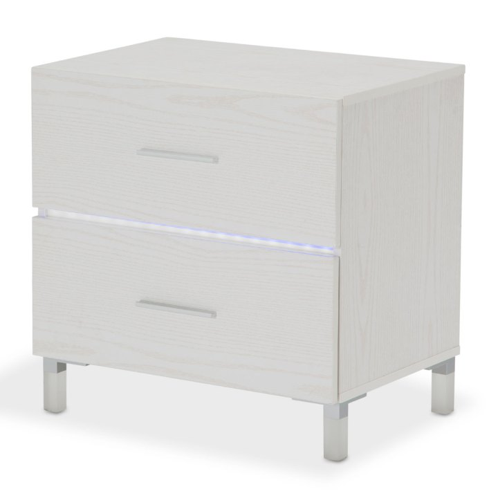 Lumiere 2 Drawer Nightstand