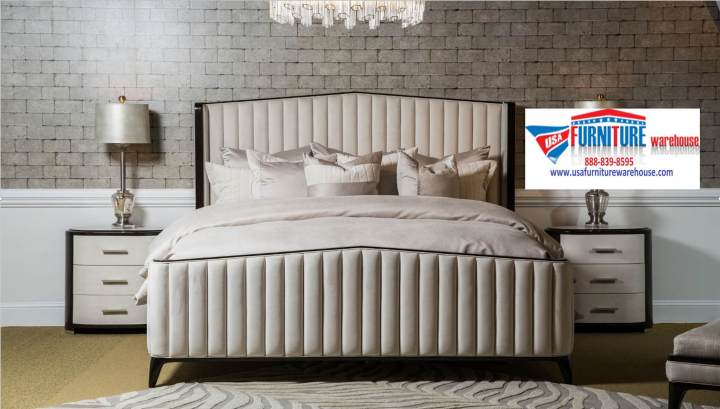 Aico Paris Chic Panel Bedroom Set