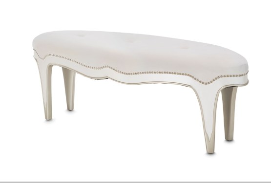 Aico London Place Oval Bed Bench