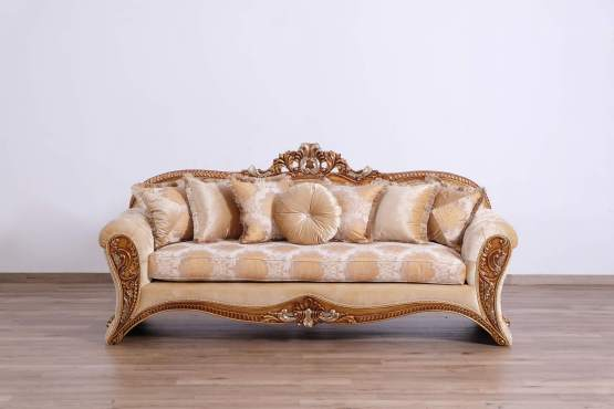 Emperador II Wood Trim Sofa