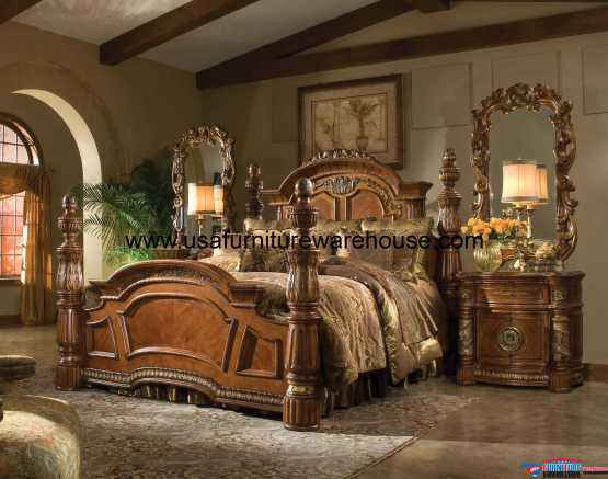 Villa Valencia Poster Bedroom Set