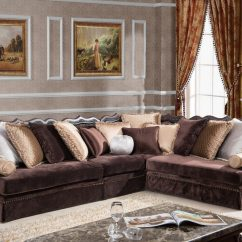 Fabric Sofa Sets With Wood Trim Sectional Sofas For Small Es Vancouver Mcferran Rsf888 Set