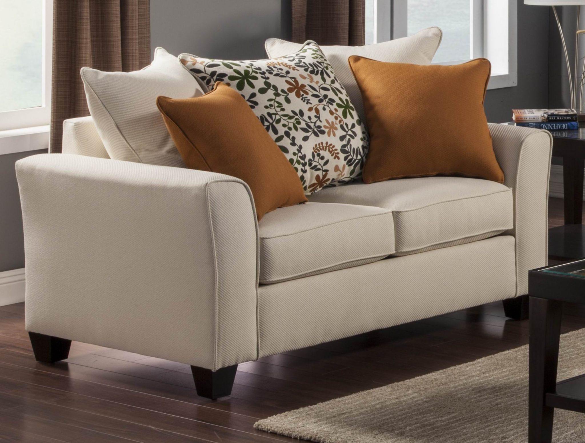 ivory sofa set gray tweed homelegance furnishing henderson chenille