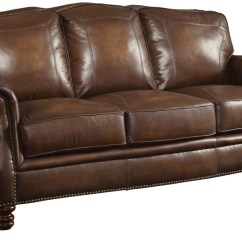 Leather Sofa Couch Simplicity Sofas Company Vision Coaster Furniture Montbrook Brown 503981