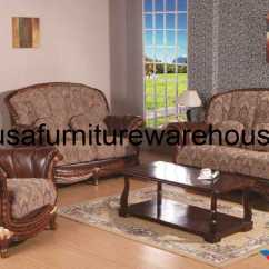 Genuine Leather Sofa Sets All Weather Wicker Walmart 3 Pc Swank Fabric Set