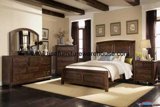 4 Piece Modus Kentfield Solid Wood Bedroom Set: 4 Piece Modus Cally Solid Wood Storage Bedroom Set