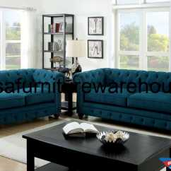 Teal Colored Leather Sofas Best Wooden Furniture Sofa Set Design 3 Piece Stanford Dark Fabric Foa 6269sf