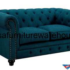 Dark Teal Chair Custom Office Furniture Of America Stanford Fabric Loveseat