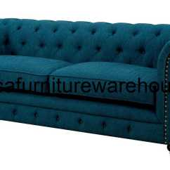 Teal Tufted Chair Zeus Thunder Gaming Furniture Of America Stanford Dark Fabric Sofa Set