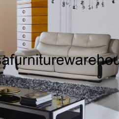 Contemporary Sofa With Wood Trim Average Table Size Cambre Genuine Tan Leather Modern Set