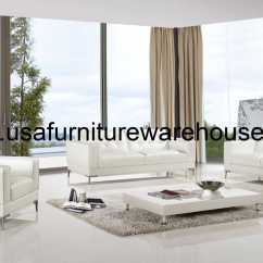 3 Piece White Leather Sofa Set Kivik Cushion Covers Modern Italian Top Grain
