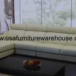 Ivory Sofa Set Comfortable Sleeper Cheap Preludio Leather Modern Sectional