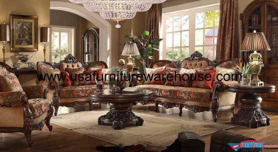 3 Piece Homey Design HD-39 Sofa Set