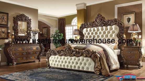 5 Piece Homey Design HD-8011 Bedroom Set