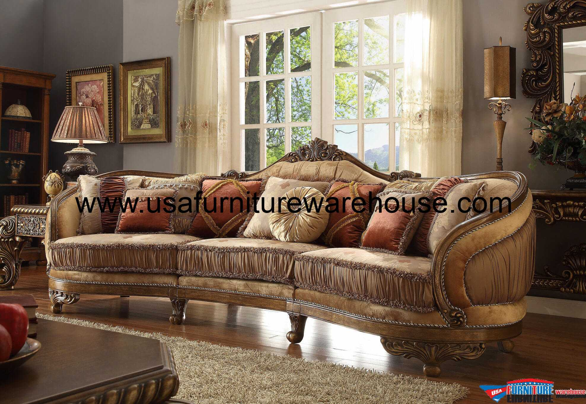 fabric sofa sets with wood trim without arms or back homey design hd 458 vienna mansion