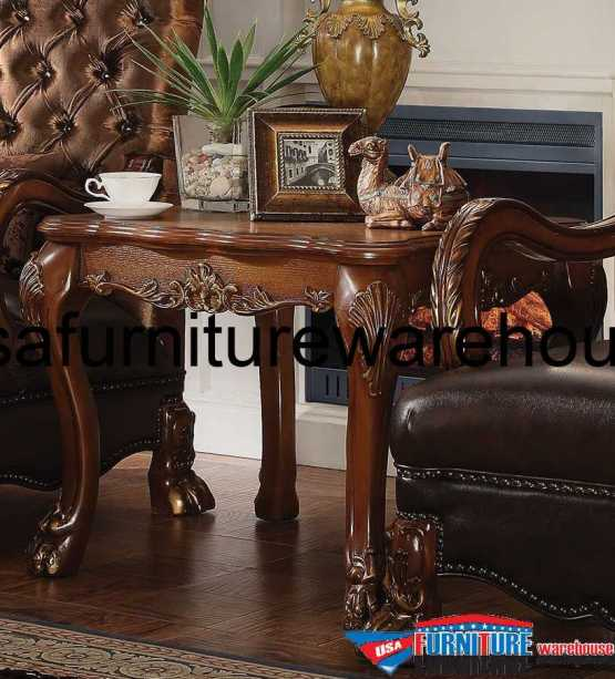Dresden Coffee Table In Cherry Oak Finish Usa Furniture