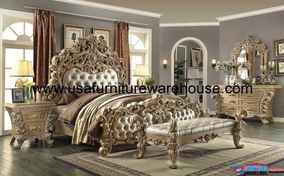 Homey Design HD-7012 Bedroom Set