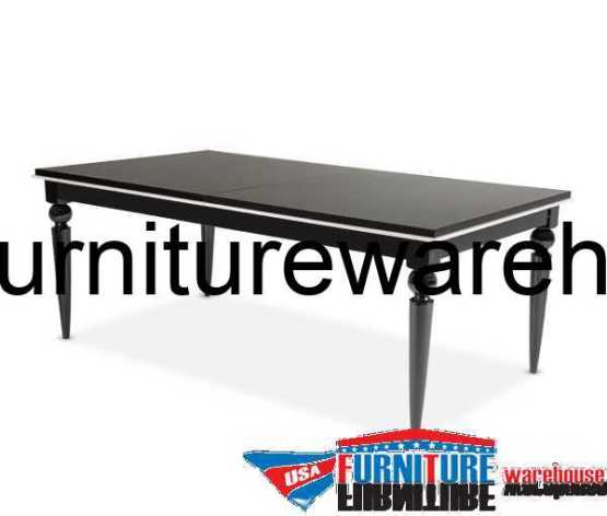 Sky Tower Black Ice Dining Table