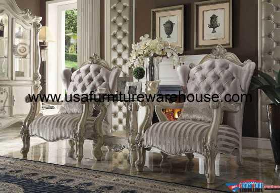 3 Piece Acme Versailles Accent Chair