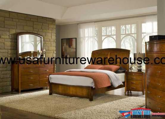 4 Piece Modus Brighton Bedroom Set