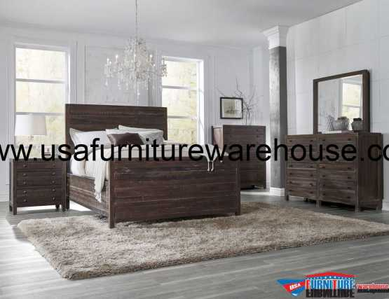 Modus Townsend Solid Wood Bedroom Set