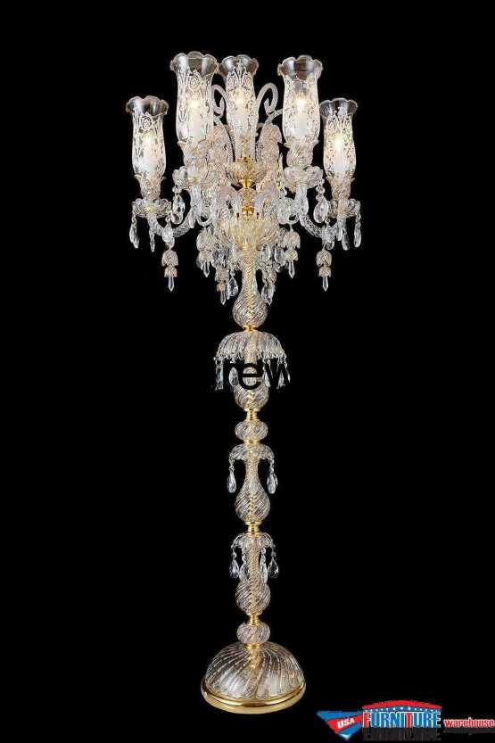 AICO 7 Light Garnier Floor Lamp