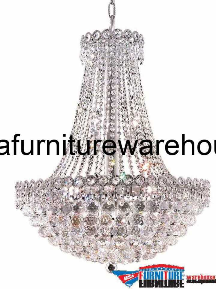 """12 Lights 24"""" Chandelier 1901 Century Collection"""