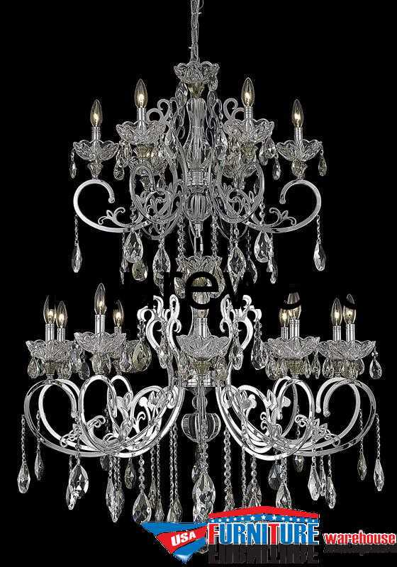 16 Lights Chandelier 2830 Aria Collection
