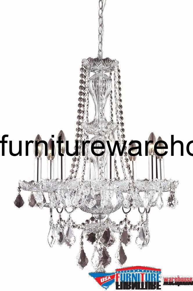 8 Lights Chandelier 7898 Giselle Collection