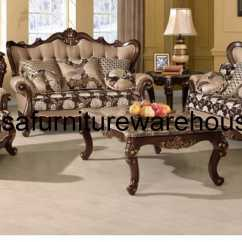 Fabric Sofa Sets With Wood Trim Bed To Bunk Beds 3 Piece Sophie Set