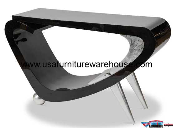 AICO Illusion Accent Console Table