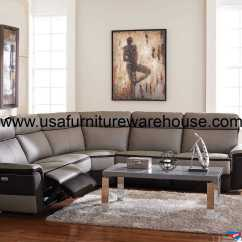 Top Grain Leather Sofa Set Build Your Own Uk Homelegance Laertes Power Reclining