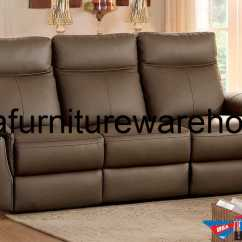Chair Covers For Reclining Loveseat Renting Tables And Chairs Homelegance Olympia Top Grain Raisin Leather Power Sofa