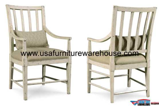 A.R.T Furniture Echo Park Slat-Back Dining Arm Chair