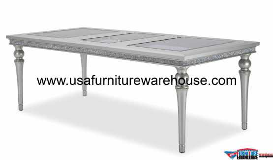 Aico Melrose Plaza 4 Leg Dining Table