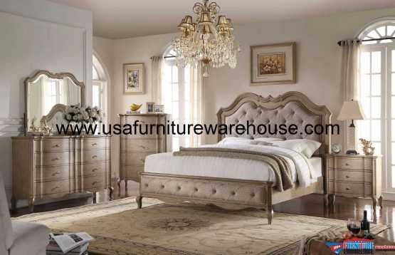 4 Piece Acme Chelmsford Bedroom Set