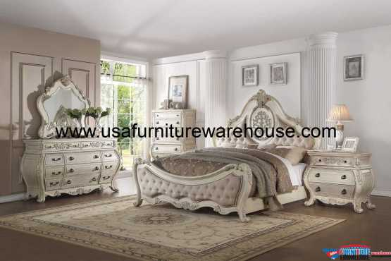 4 Piece Acme Ragenardus Bedroom Set